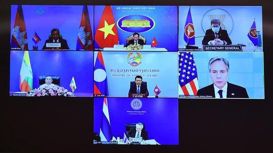 Ngoại trưởng Mỹ họp với Bộ trưởng Ngoại giao các nước Mê Kông - Ảnh 1.