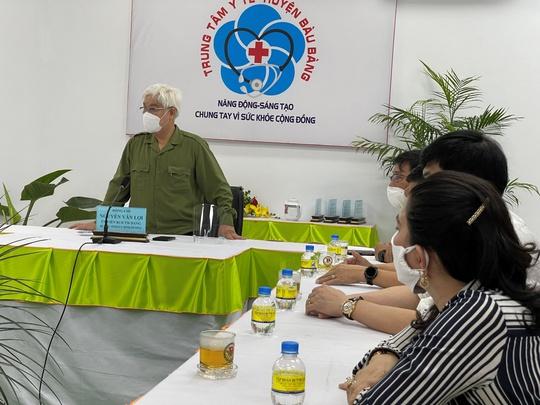 Quỹ Từ thiện Kim Oanh tiếp tục tặng 10 máy thở giúp tỉnh Bình Dương phòng chống dịch - Ảnh 2.