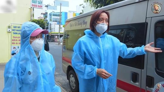 Việt Hương bức xúc về tin đồn đòi tiền khi giao bình oxy - Ảnh 4.