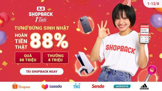 Shopback Việt Nam kỷ niệm một năm hoạt động - Ảnh 1.