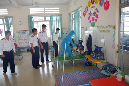 Thăm, kiểm tra công tác kiểm soát, phòng chống dịch bệnh Covid-19 của Cảnh sát biển - Ảnh 1.