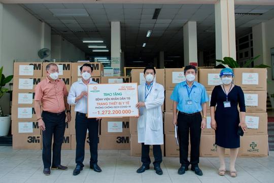 Tập đoàn Hưng Thịnh hỗ trợ trang thiết bị y tế với kinh phí gần 2 tỉ đồng cho Bệnh viện Nhân dân 115 và Gia Định - Ảnh 1.