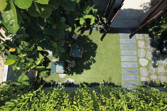 Ngôi nhà đa năng với mái tranh, cây xanh phủ kín ở Quảng Nam - Ảnh 6.