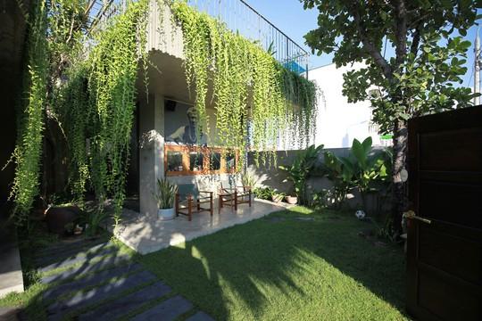 Ngôi nhà đa năng với mái tranh, cây xanh phủ kín ở Quảng Nam - Ảnh 7.