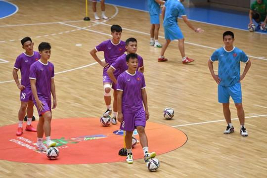 Tuyển futsal Việt Nam hào hứng với điều lệ thi đấu mới - Ảnh 1.