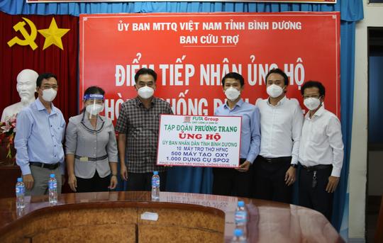 Phương Trang tiếp tục hỗ trợ TP HCM, Bình Dương chống dịch - Ảnh 1.