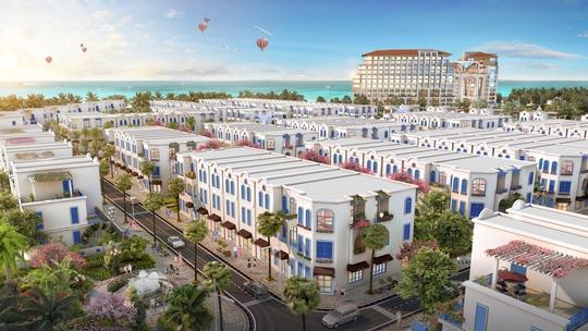 """The Blue Village – """"tiểu Santorini"""" độc đáo giữa lòng đại đô thị nghỉ dưỡng FLC Quảng Bình - Ảnh 2."""