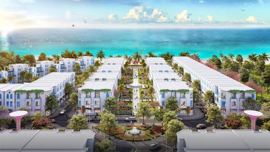 """The Blue Village – """"tiểu Santorini"""" độc đáo giữa lòng đại đô thị nghỉ dưỡng FLC Quảng Bình - Ảnh 3."""