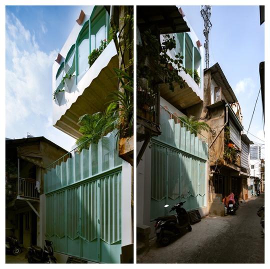 Ngôi nhà màu pastel trong hẻm nhỏ ở TP HCM - Ảnh 2.