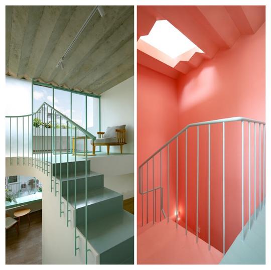 Ngôi nhà màu pastel trong hẻm nhỏ ở TP HCM - Ảnh 7.