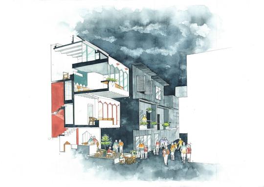 Ngôi nhà màu pastel trong hẻm nhỏ ở TP HCM - Ảnh 8.