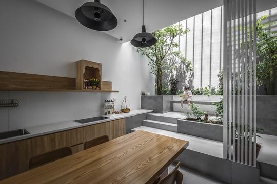 Những căn bếp Việt đầy nắng, gió và cây xanh - Ảnh 6.