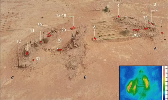 Nền văn minh vượt thời gian 8.000 năm trước hiện ra giữa sa mạc - Ảnh 1.