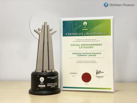 Shinhan Finance được vinh danh Doanh nghiệp Trách nhiệm Châu Á 2021 - Ảnh 3.