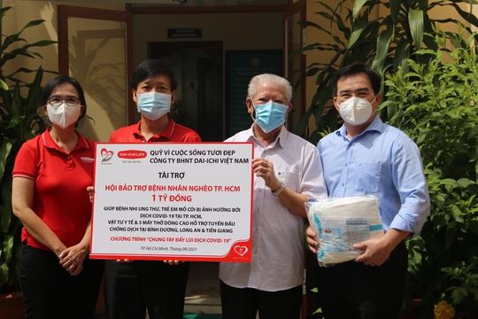 Dai-ichi Life tài trợ 1 tỉ đồng cho bệnh nhi ung thư, trẻ em mồ côi và lực lượng tuyến đầu chống dịch Covid-19 - Ảnh 1.