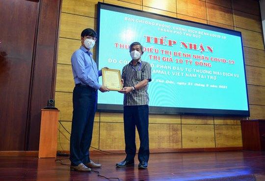 Gigamall Việt Nam chung tay phòng chống dịch - Ảnh 3.