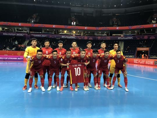 Việt Nam thua sít sao Nga ở vòng 1/8 FIFA Futsal World Cup 2021 - Ảnh 3.