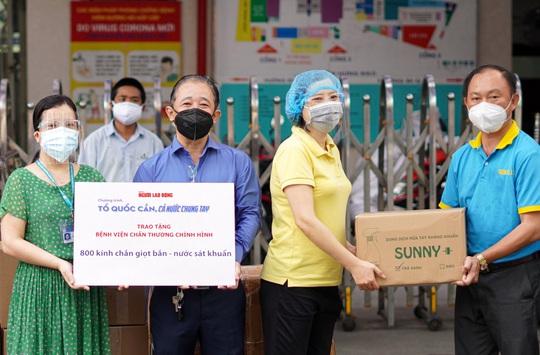 Mang tin vui đến Bệnh viện Chấn thương Chỉnh hình TP HCM - Ảnh 1.