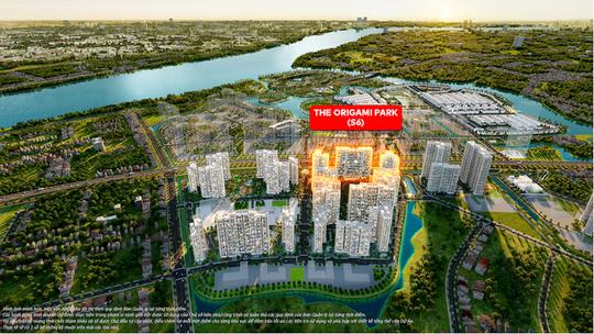 Khám phá cuộc sống cân bằng hiếm có tại The Origami Park - Vinhomes Grand Park - Ảnh 1.