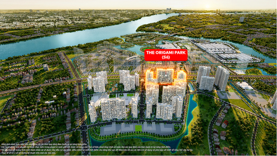 """Cơ hội cuối cùng sở hữu phân khu """"vàng"""" The Origami Park tại Vinhomes Grand Park - Ảnh 1."""