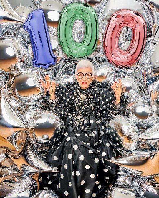 Cụ bà 100 tuổi mặc đẹp nhất thế giới - Ảnh 1.