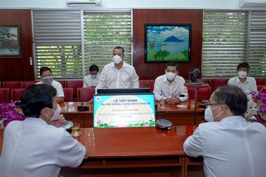 Tập đoàn Hưng Thịnh tài trợ 1 tỉ đồng cho chương trình nghiên cứu thuốc điều trị Covid-19 của Bệnh viện Thống Nhất - Ảnh 3.