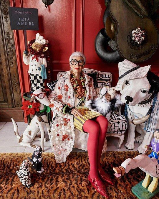 Cụ bà 100 tuổi mặc đẹp nhất thế giới - Ảnh 5.