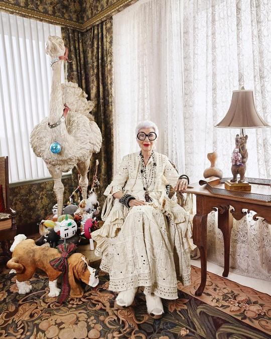 Cụ bà 100 tuổi mặc đẹp nhất thế giới - Ảnh 7.