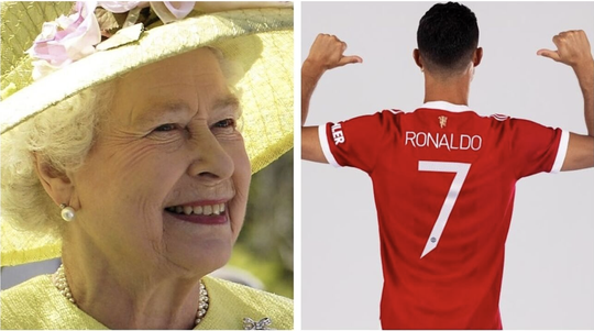 Nữ hoàng Elizabeth thành fan số 1 của siêu sao bóng đá Ronaldo? - Ảnh 2.