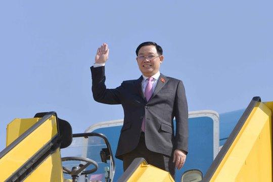 Chủ tịch Quốc hội bắt đầu chuyến công tác châu Âu - Ảnh 1.
