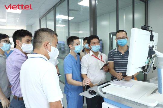 Viettel thiết kế hạ tầng CNTT cho bệnh viện dã chiến hiện đại nhất Hà Nội - Ảnh 1.