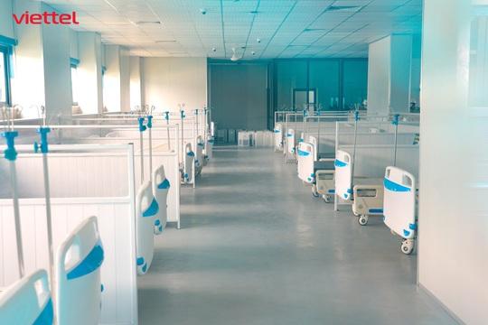 Viettel thiết kế hạ tầng CNTT cho bệnh viện dã chiến hiện đại nhất Hà Nội - Ảnh 2.