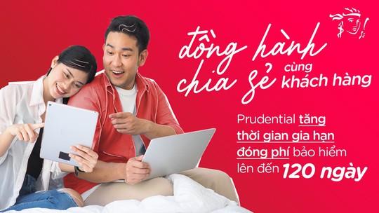 Prudential Việt Nam tăng thời gian gia hạn đóng phí bảo hiểm lên đến 120 ngày - Ảnh 1.