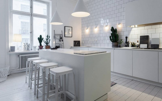 Những lưu ý khi chọn màu sắc cho tủ bếp - Ảnh 2.