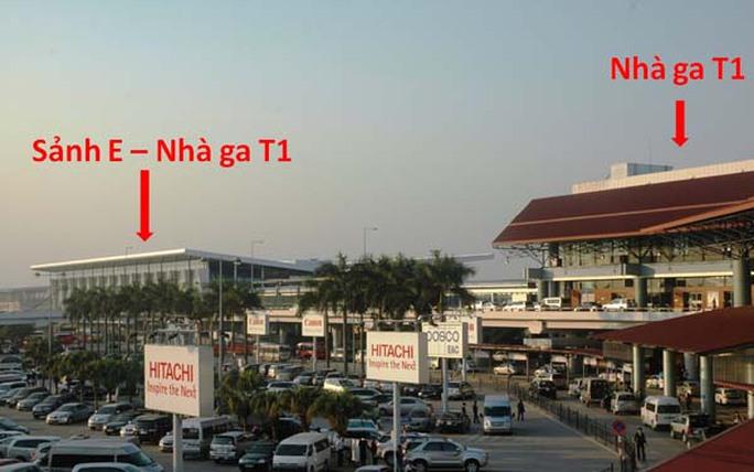 Sân bay Nội Bài vừa xây thêm sảnh E thuộc Nhà ga T1