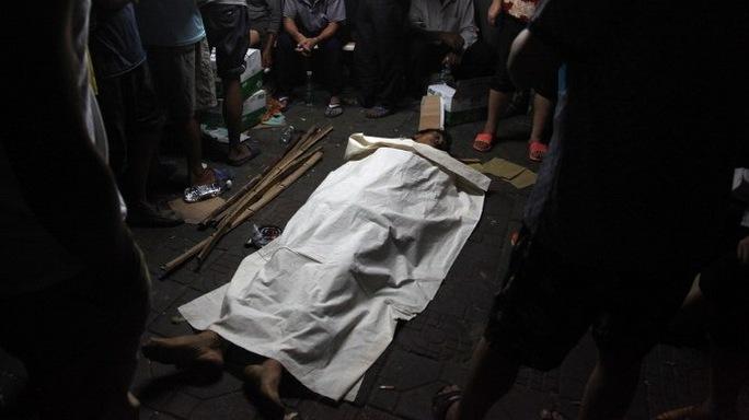 Nạn nhân Deng Zhengjia bị cán bộ quản lý đô thị đánh chết.  Ảnh: Sina Weibo