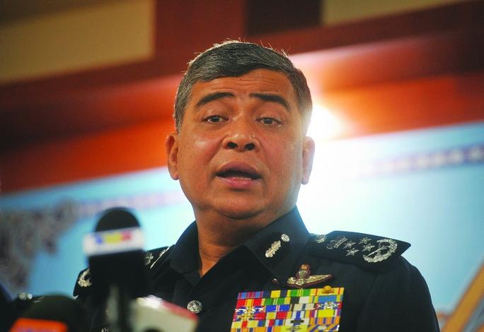 Cảnh sát trưởng Malaysia Khalid Abu Bakar. Ảnh: The Malay Mail Online