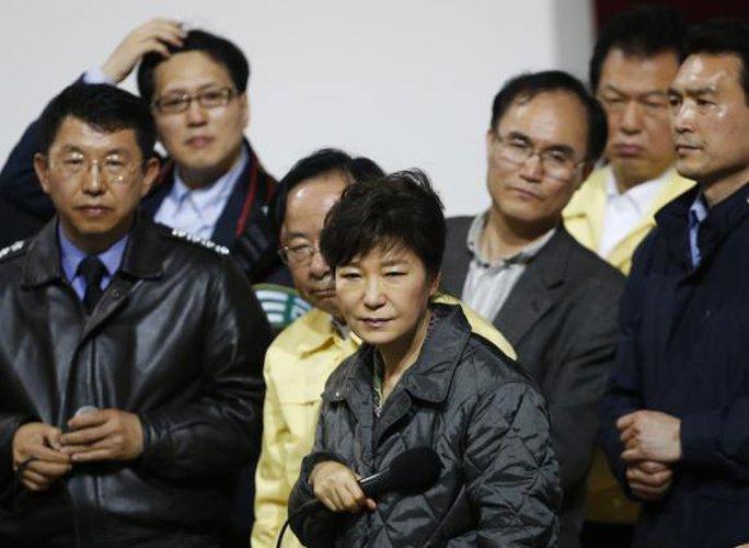 Tổng thống Hàn Quốc Park Geun-hye đã bổ nhiệm thủ tướng mới hôm 22-5. Ảnh: Reuters
