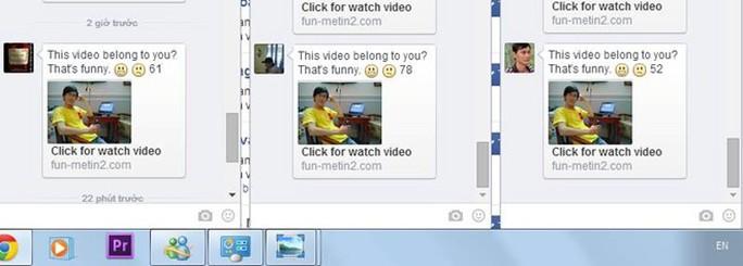 Liên kết chứa mã độc hoành hành Facebook ở VN