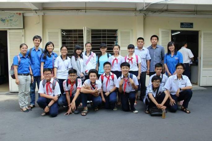 Học sinh Trường Trung học Thực hành Sài Gòn. Ảnh: thuchanhsaigon.edu.vn