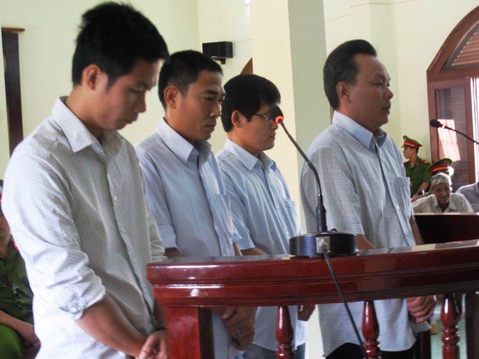 Các bị cáo Quyền, Mẫn, Quang Huy thừa nhận hành vi đánh Kiều là sai trái và xin gia đình bị hại tha thứ