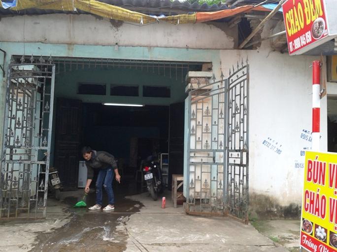 Quán cháo nơi xảy ra cuộc truy sát khiến 3 người thương vong ở Thanh Hóa