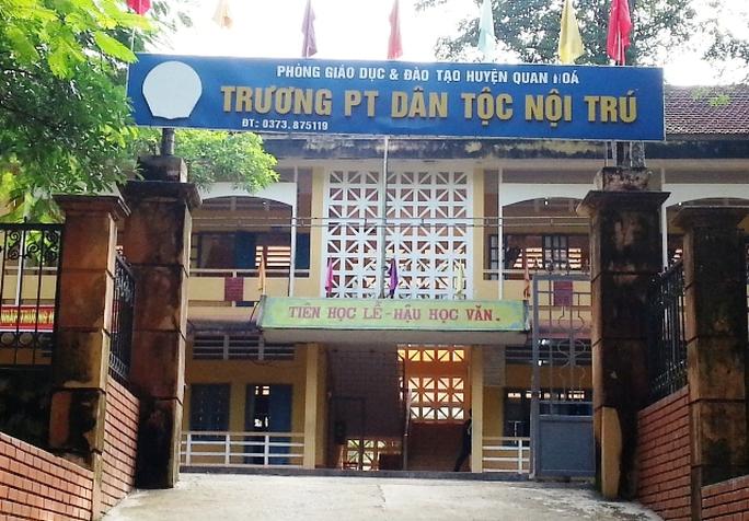 Ngôi trường nơi ông Đỗ Hồng Đãi công tác