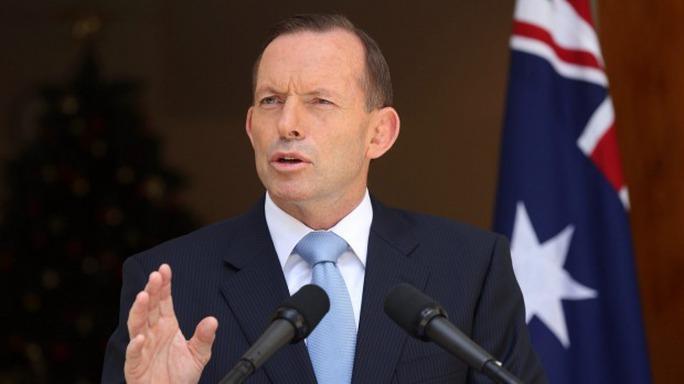 Thủ tướng Úc Tony Abbott. Ảnh: SMH