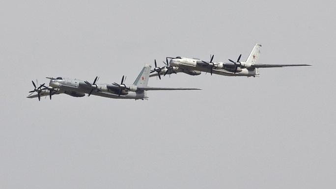 Máy bay ném bom Tu-95 của Nga. Ảnh: Reuters
