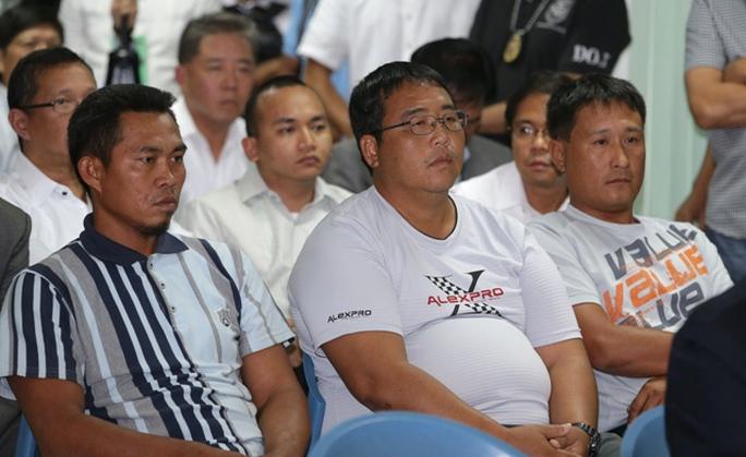 3 nhân chứng trong vụ cảnh sát biển Philippines bằn chết ngư dân Đài Loan. Ảnh: AP
