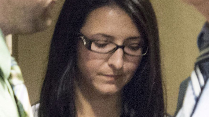 Bị cáo Emma Czornobaj tại tòa án hôm 20-6. Ảnh: AP