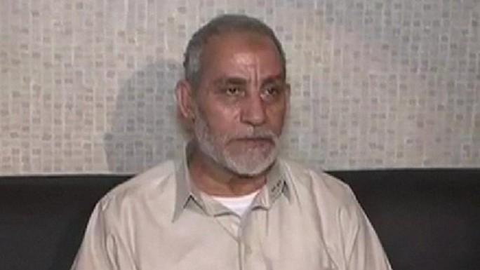 Lãnh đạo Mohamed Badie của tổ chức Hồi giáo Anh em. Ảnh: BBC