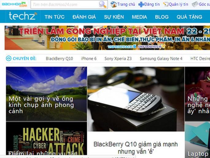 Techz.vn mới bị xử phạt 22,5 triệu đồng vì sai phạm trong hoạt động trang tin điện tử.