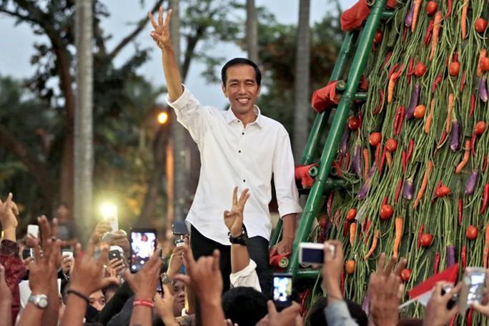 Tổng thống mới đắc cử của Indonesia Joko Widodo. Ảnh: AP